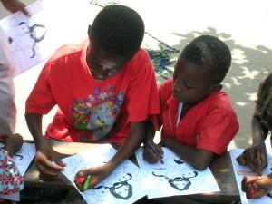Boy artists