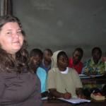Madlen teaching at UPN
