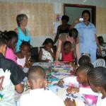 Easter program at Ngaliema Medical Center