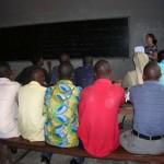 Bible students at UPN university