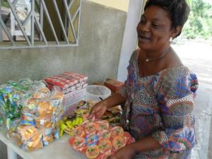 Florence sells food items