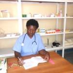Florence also runs the pharmacy as a micro-enterprise