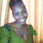 Huguette's micro-enterprise helped her finance her university studies.