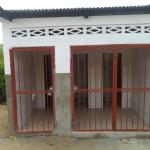 Newly built sanitary block