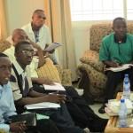 Espoir Congo's training course