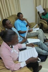 Espoir Congo's training course for new entrepreneurs