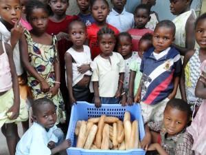 bread distribution