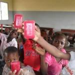 Distribution of medical soap