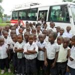 Excursion to Kinshasa zoo