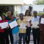 Bible students graduation ceremony