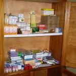 Medicine cabinet donated by Espoir Congo