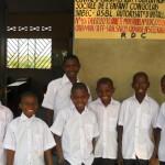 New School uniforms for orphaned children