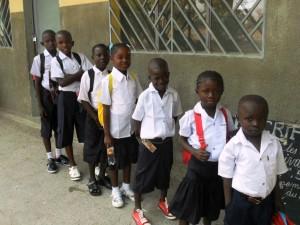New uniforms for orphaned children