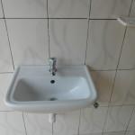 Sink in new sanitary block