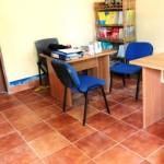 Tiled office