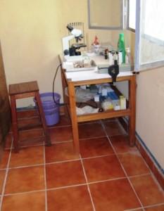 Tiled mini lab
