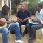 Guitar classes in UNIKIN (university of Kinshasa)