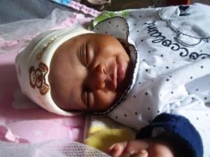 7_Olivier's newborn daughter