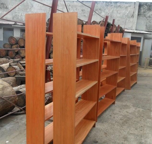 Shelves for library