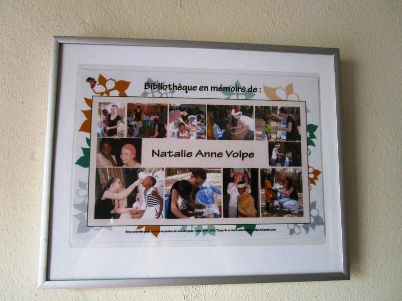In memory of Natalie