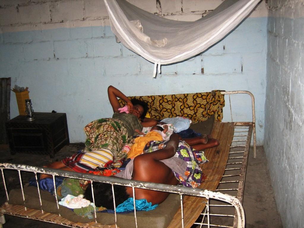 Sad conditions in local maternity near Kikimi