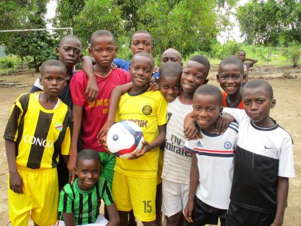 The boys' team