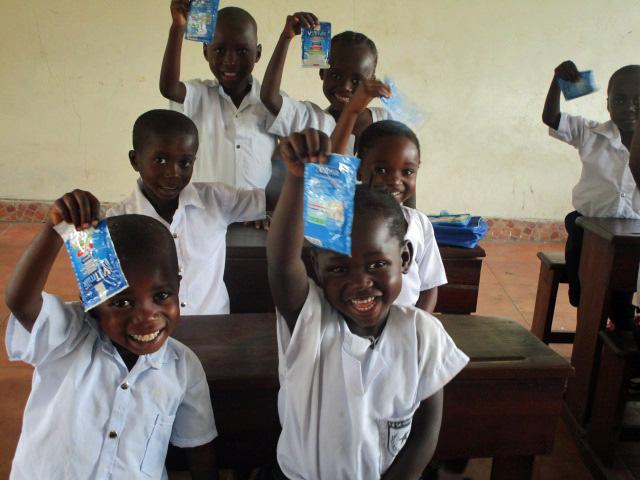 Milk donated by Mafricom
