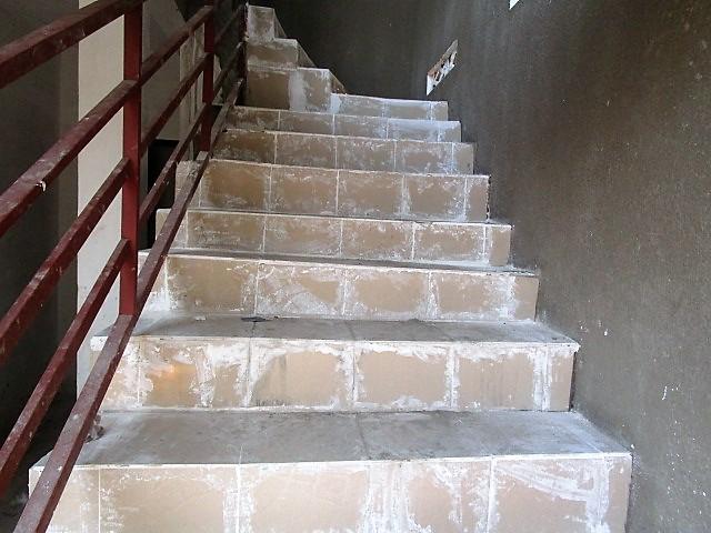 Tiling of the stairways (work in progress)