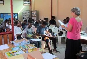 Presentation of the STEPS Program to Sunday School teachers